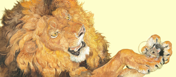cerita singa yang diselamatkan tikus