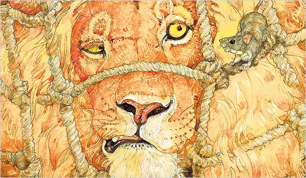 fabel singa dan tikus