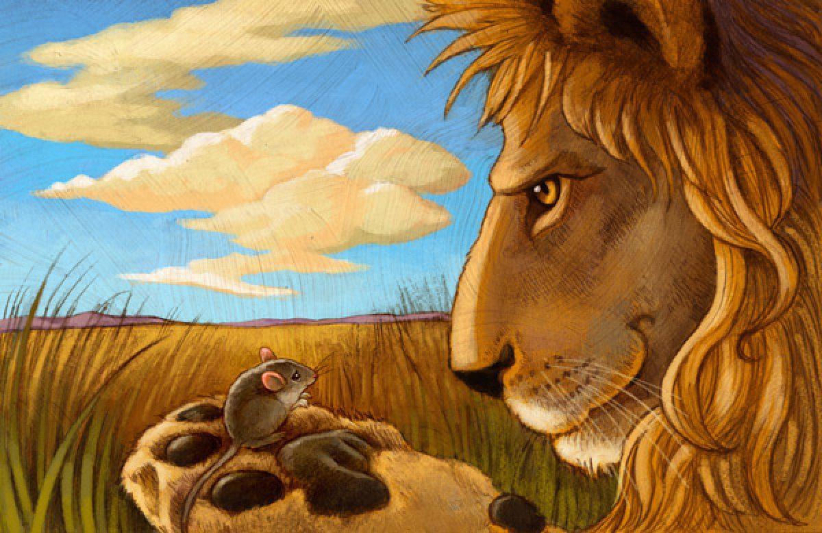 Fabel Kisah Persahabatan Singa Dan Tikus