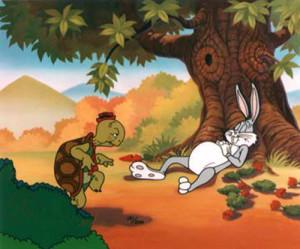 dongeng sebelum tidur kura-kura menyusul kelinci tidur