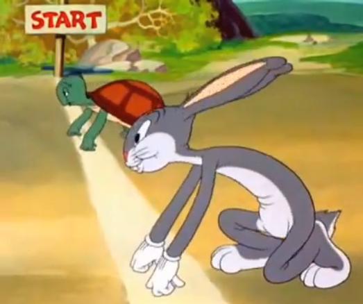 lomba lari kelinci dan kura-kura