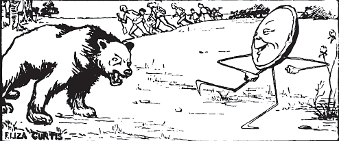 kue johnny di kejar beruang