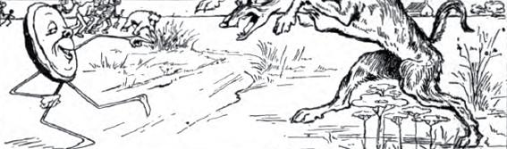 kue johnny di kejar serigala