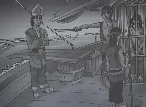 Cerita Dongeng Nusantara   Legenda Batu Rantai