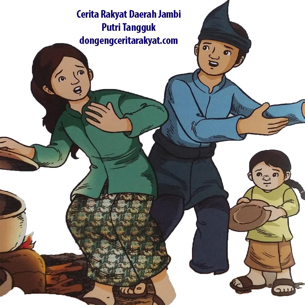 Cerita Rakyat Daerah Jambi Putri Tangguk