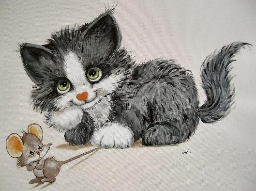 Contoh Dongeng Sebelum Tidur Anak Kucing dan Tikus