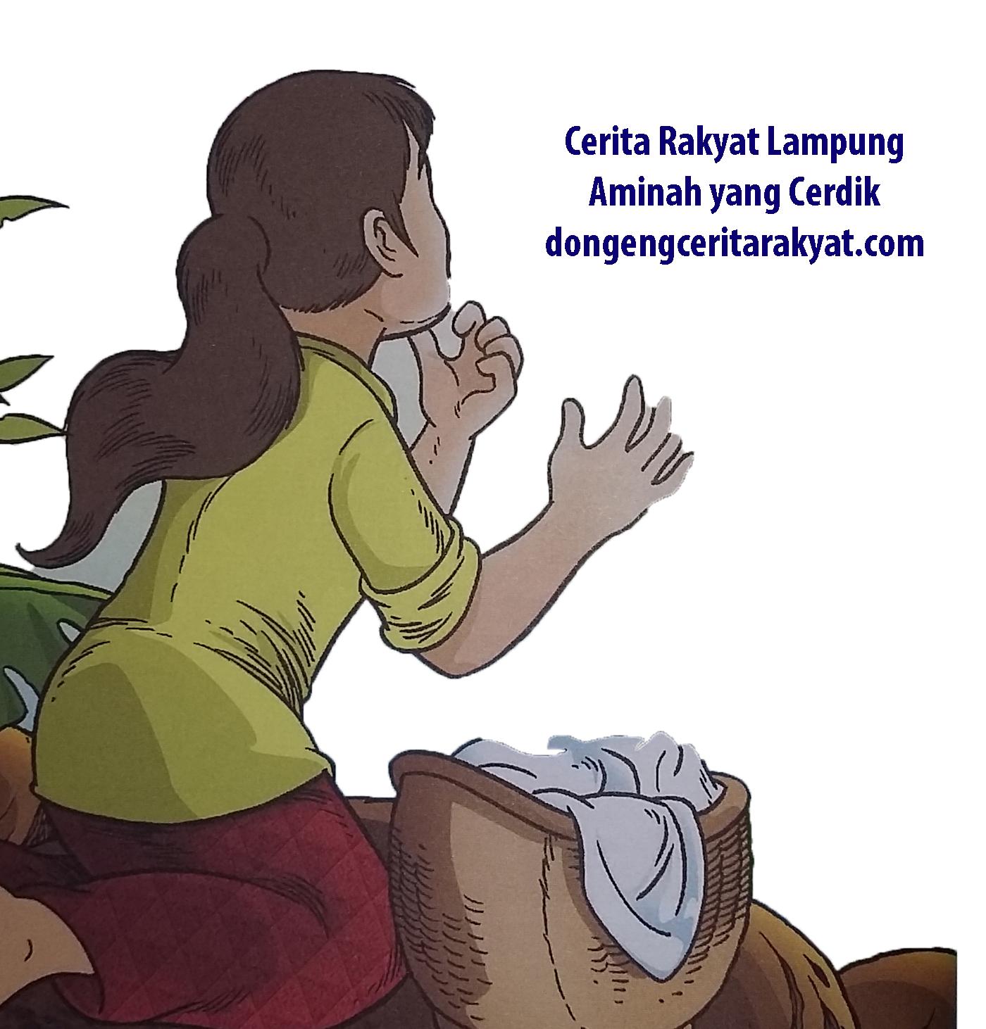 Cerita Rakyat Lampung Aminah yang Cerdik
