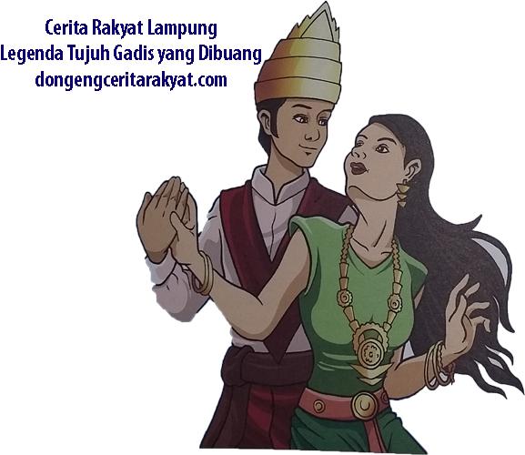 Cerita Rakyat Lampung Legenda Tujuh Gadis yang Dibuang