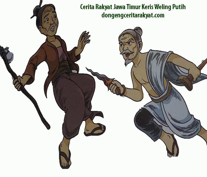 Cerita Rakyat dari Jawa Timur Keris Weling Putih