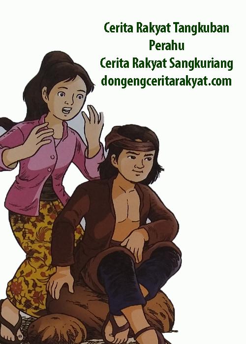 cerita rakyat gunung tangkuban perahu