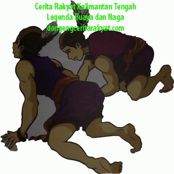 Cerita Rakyat Dari Kalimantan Tengah Buaya Dan Naga