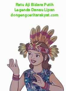 Cerita Rakyat dari Kalimantan Timur Ratu Aji Bidara Putih