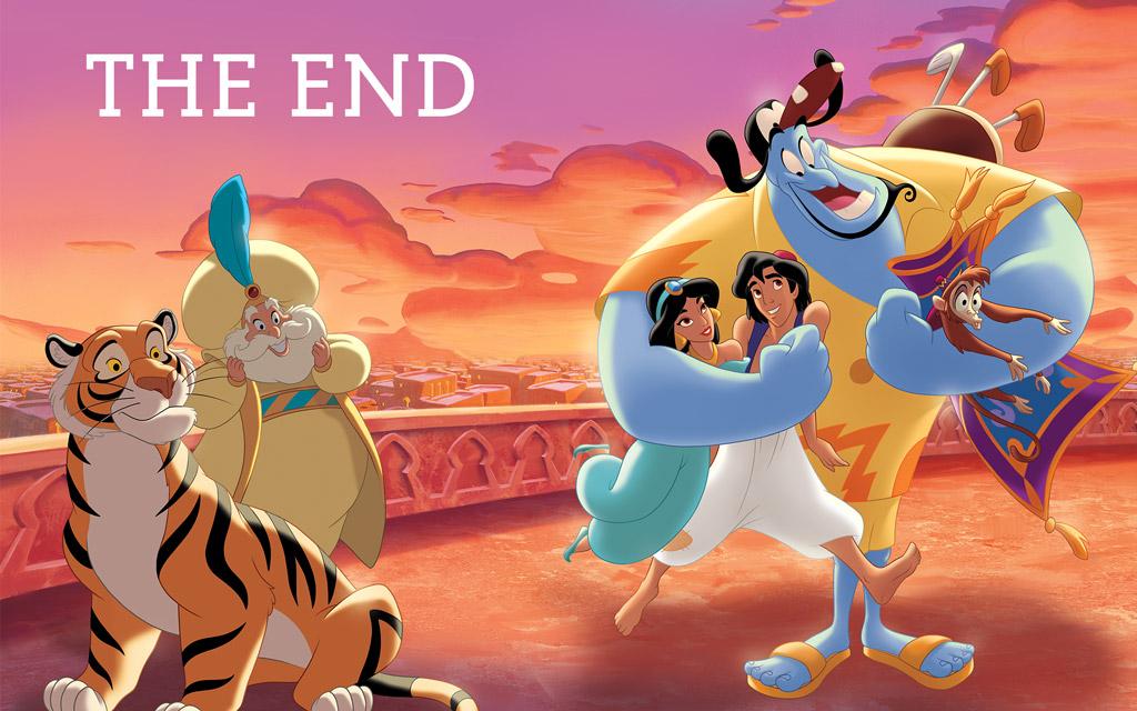 Dongeng Aladin dan Putri Jasmin Bahagia Untuk Selamanya