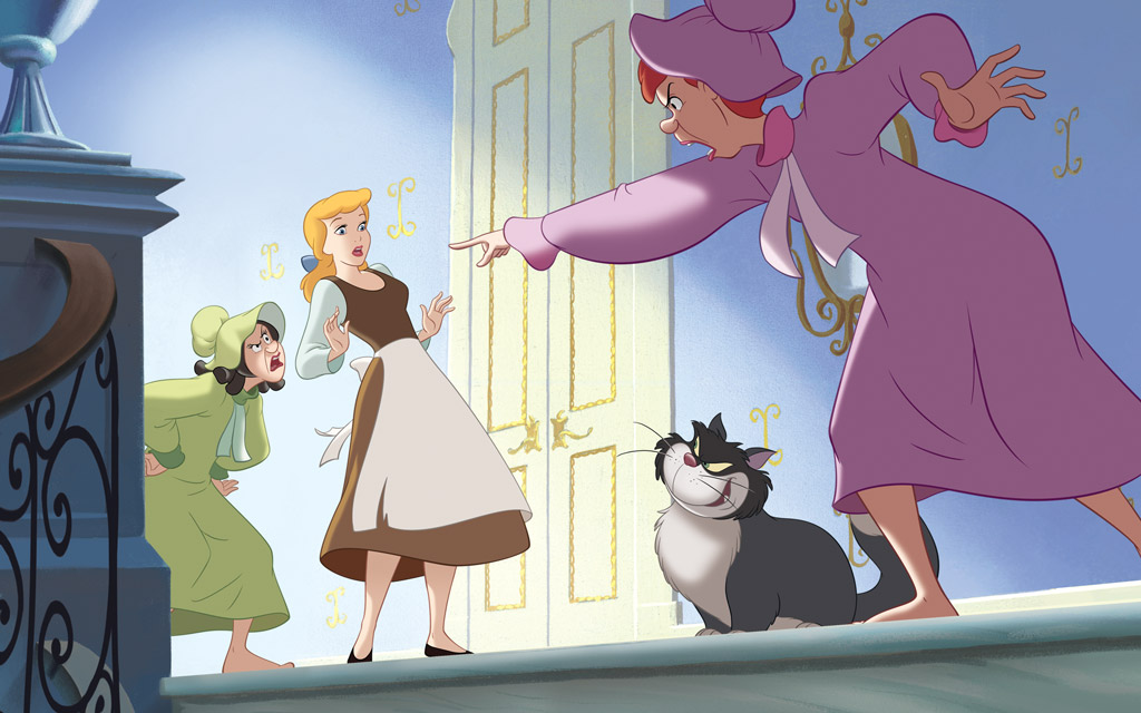 dongeng cinderella dalam bahasa inggris