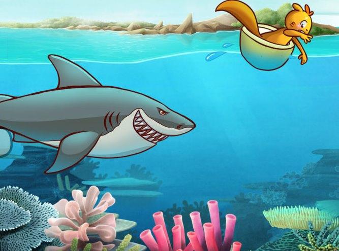 Kumpulan Dongeng Binatang Cerita Fabel Ikan Gabus  dan Tupai