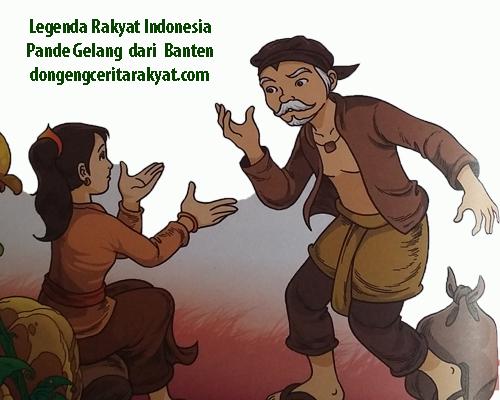 Contoh Dongeng Sunda Kisah Pangeran Pande Gelang