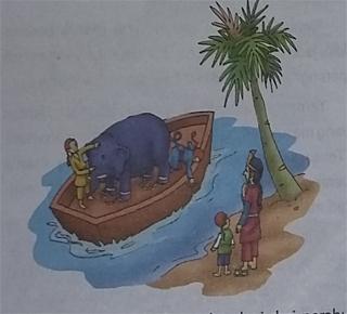 Cerita Rakyat Cina Cara Menimbang Seekor Gajah