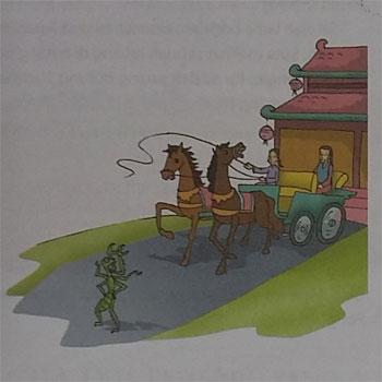 Kumpulan Dongeng Singkat Cina Cengcorang Menghadang Kereta Kuda