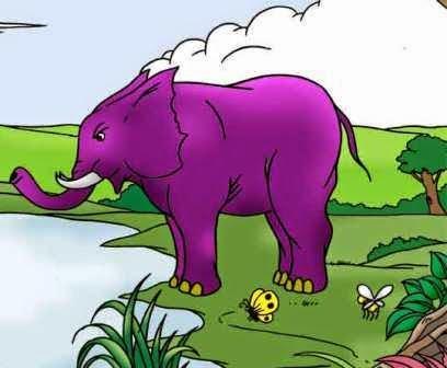 Cerita Dongeng Rakyat Indonesia : Gajah Pembohong
