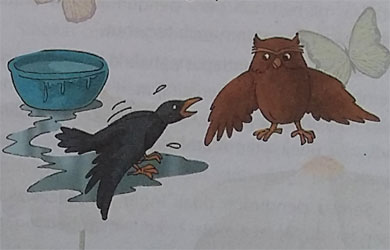 Cerita Dongeng Nusantara : Bulu Burung Gagak