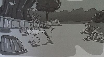 cerita dongeng binatang burung bangau