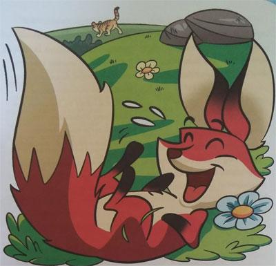 cerita dongeng binatang rubah dan harimau