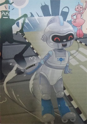 Kumpulan Dongeng Bobo Roci Si Robot Tercepat