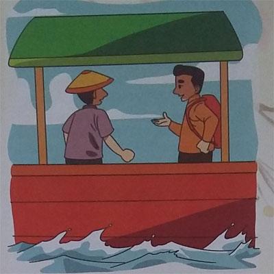 Cerpen Pendek Anak : Nelayan Dan Guru Bahasa (Iran)