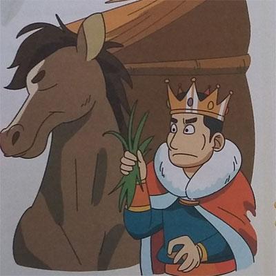 cerita rakyat spanyol rahasia perawat kuda