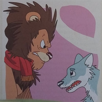 Judul Dongeng Legenda : Hyena Si Penghasut