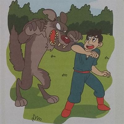 Buku Dongeng Anak : Pemuda Dan Serigala