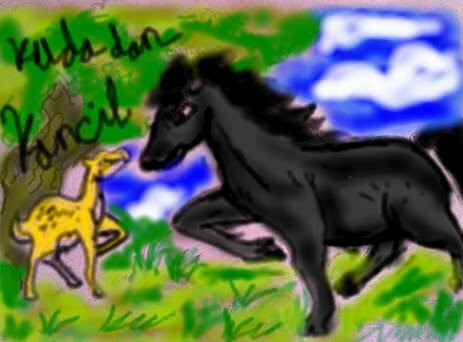 Dongeng Fabel Kisah Kuda Yang Malas Mandi