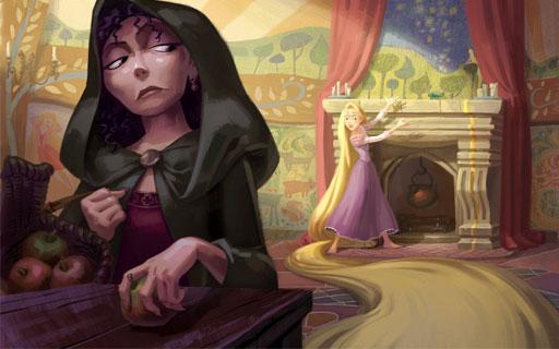 cerita rapunzel dalam bahasa inggris