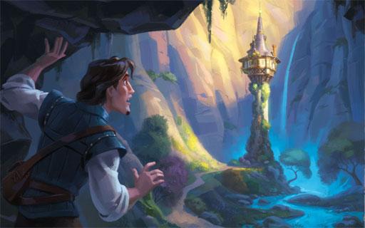 cerita rapunzel dalam bahasa inggris dan terjemahannya
