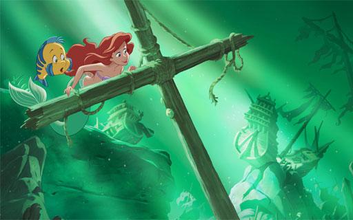 Dongeng Cerita Putri Duyung Ariel Bahasa Inggris