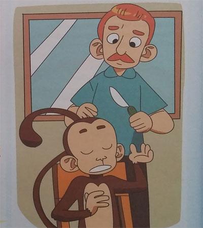 Dongeng Anak Pendek : Monyet Yang Jahil
