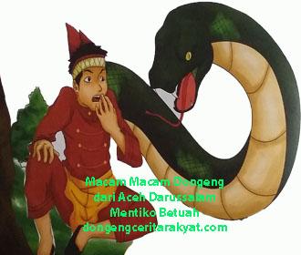 Cerita Rakyat Nanggroe Aceh Darussalam Terpopuler Mentiko Betuah