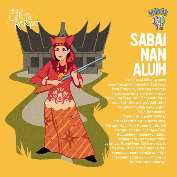 Cerita Rakyat Padang Sabai Nan Aluih