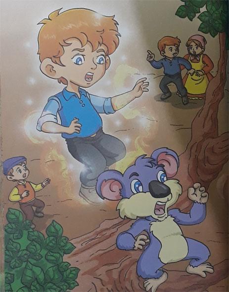 Cerita dongeng anak bergambar Asal Koala