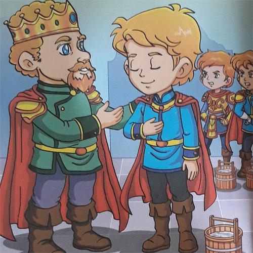 Dongeng Cerita Rakyat Pangeran Basykal
