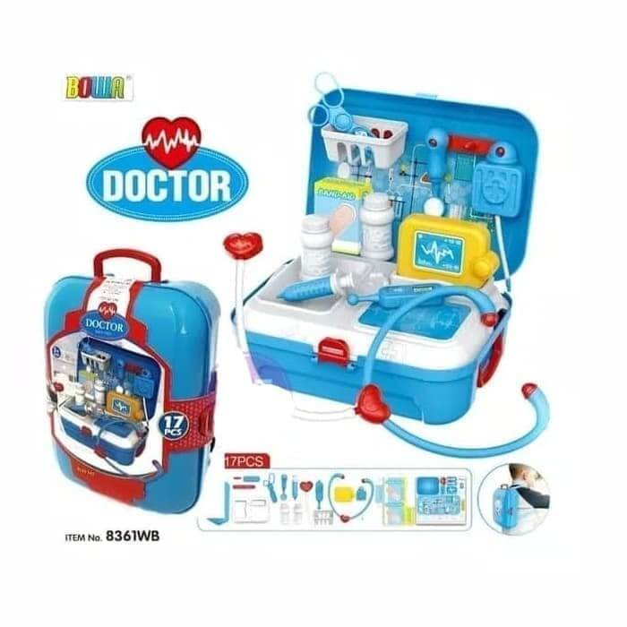 Mainan Edukasi Anak 4 tahun Paket Dokter