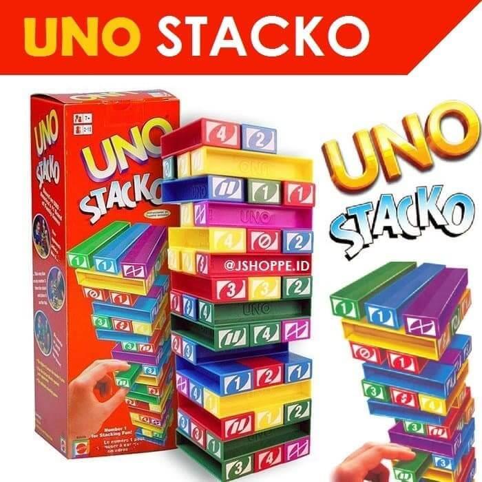 Mainan Edukatif Anak 2 tahun Uno Stacko