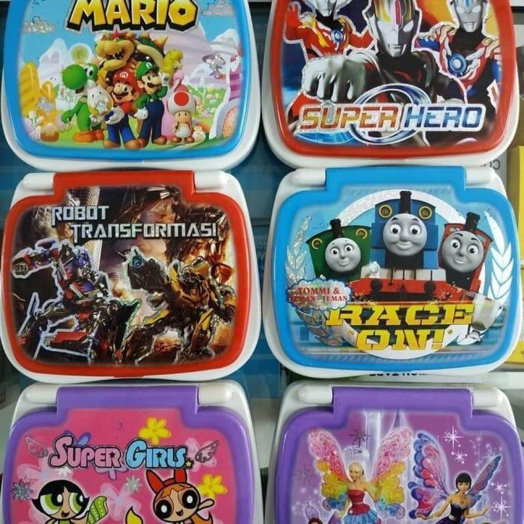 mainan laptop atau notebook mini