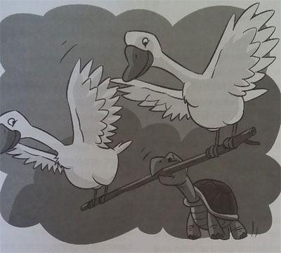 Macam Macam Cerpen Anak AESOP Kura-Kura yang Ingin Terbang
