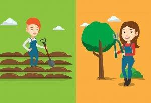 Dongeng Anak Dua Tukang Kebun (The Two Gardeners)