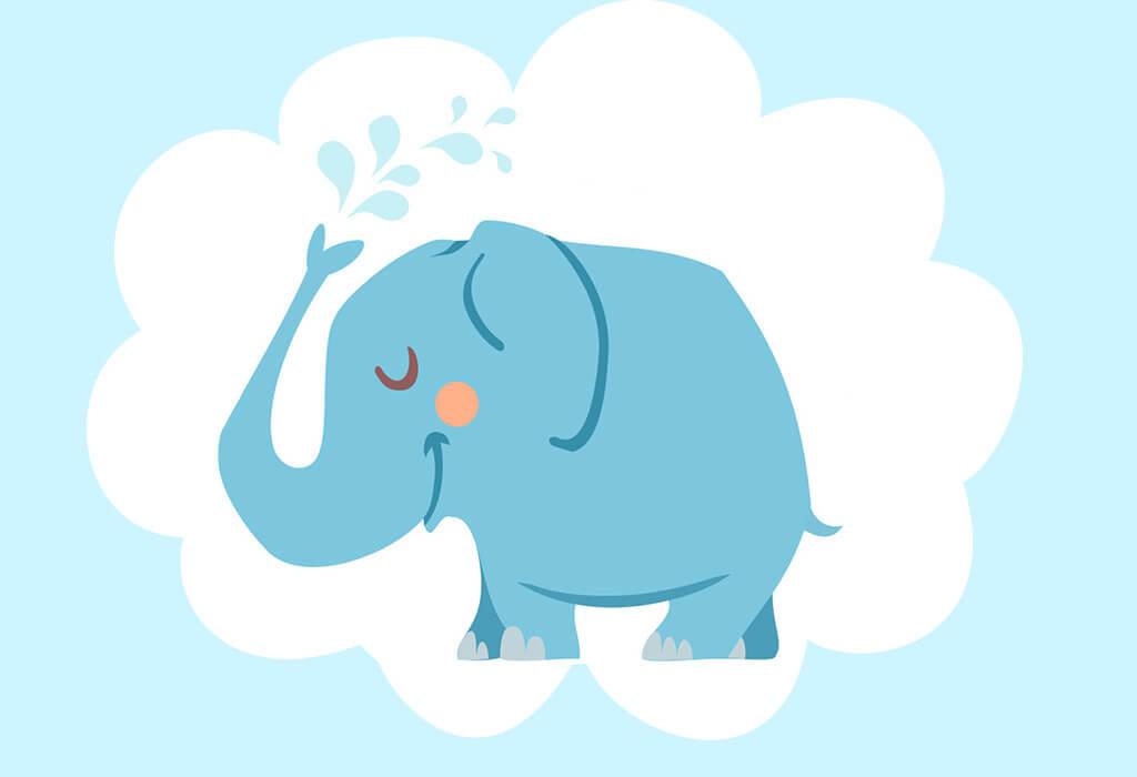 gajah dan teman-temannya