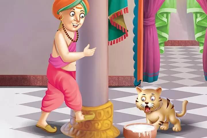 Dongeng Tenali Rama Kucing di Kerajaan Sri Krishnadevaraya