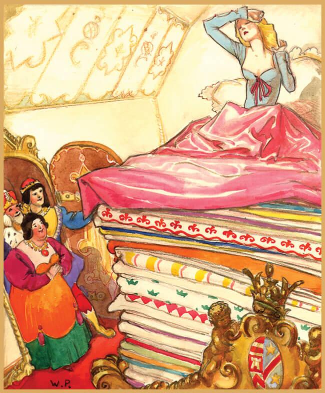 Cerita Pendek Putri Sejati dan Kacang Polong