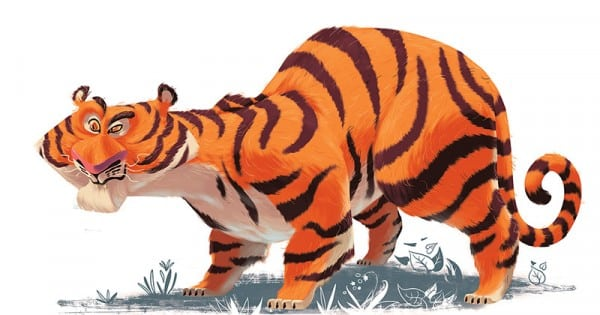 Cerita Dongeng Fabel Malaysia Kesalahan Harimau