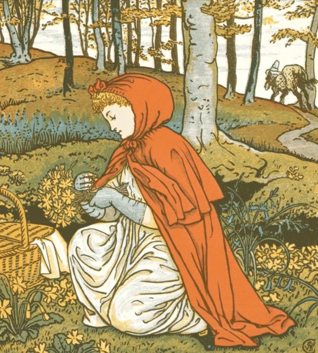 Dongeng Perancis Populer Cerita Gadis Kecil Berkerudung Merah